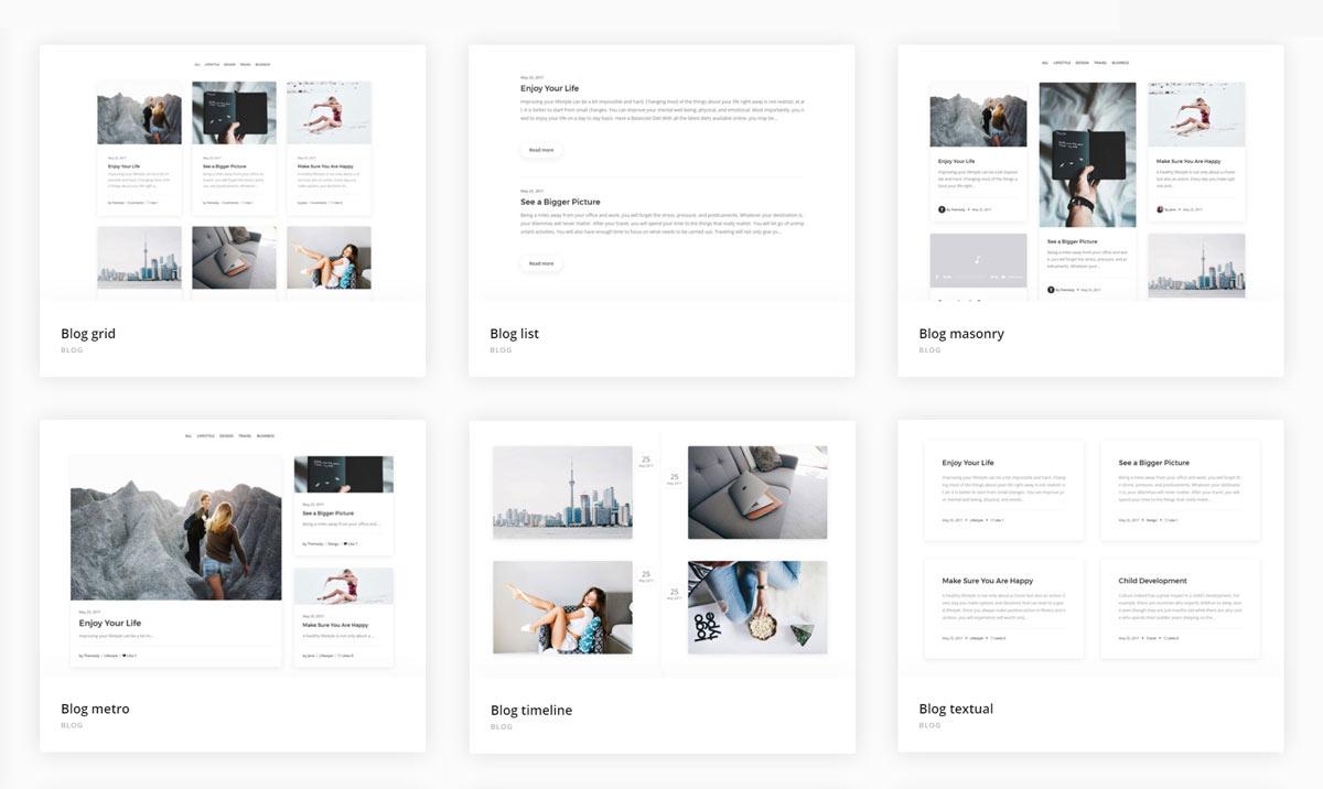 Creatus blog templates