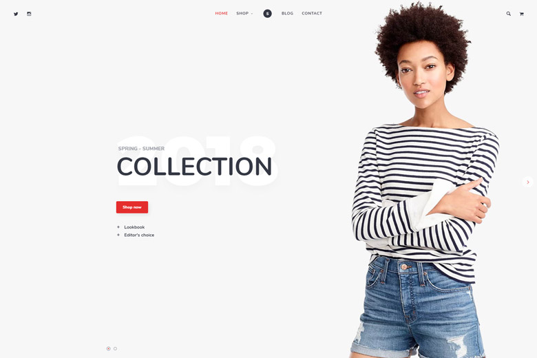 Shopsy – Fashion Store WordPress Theme