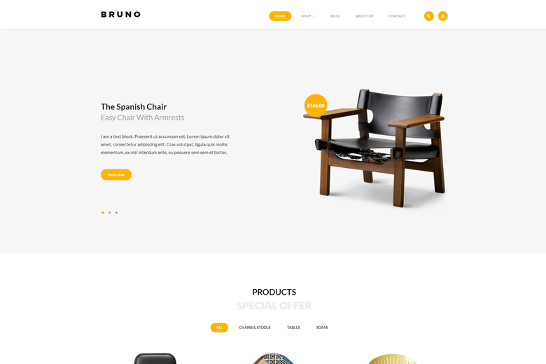 Bruno – eCommerce WordPress Theme