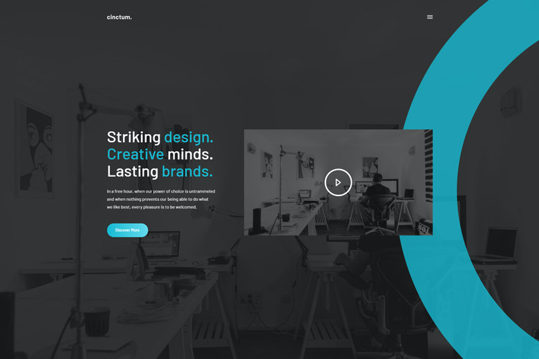 Cinctum – Modern Digital Agency WordPress Theme