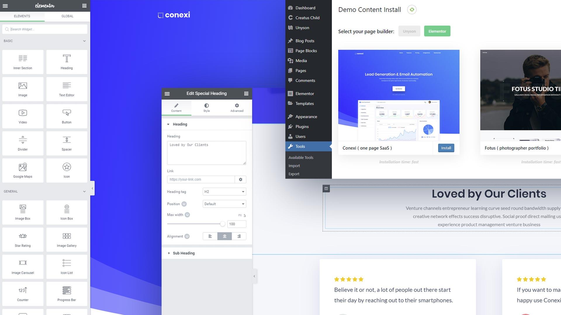 elementor_demos