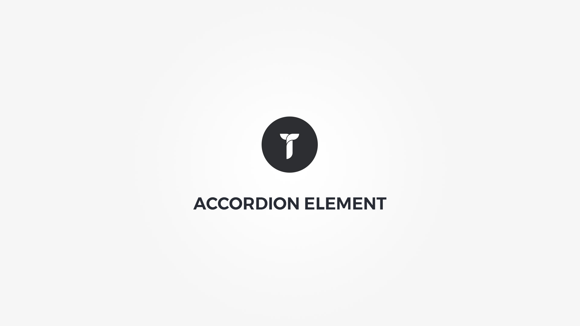 Creatus WordPress Theme Accordion Element