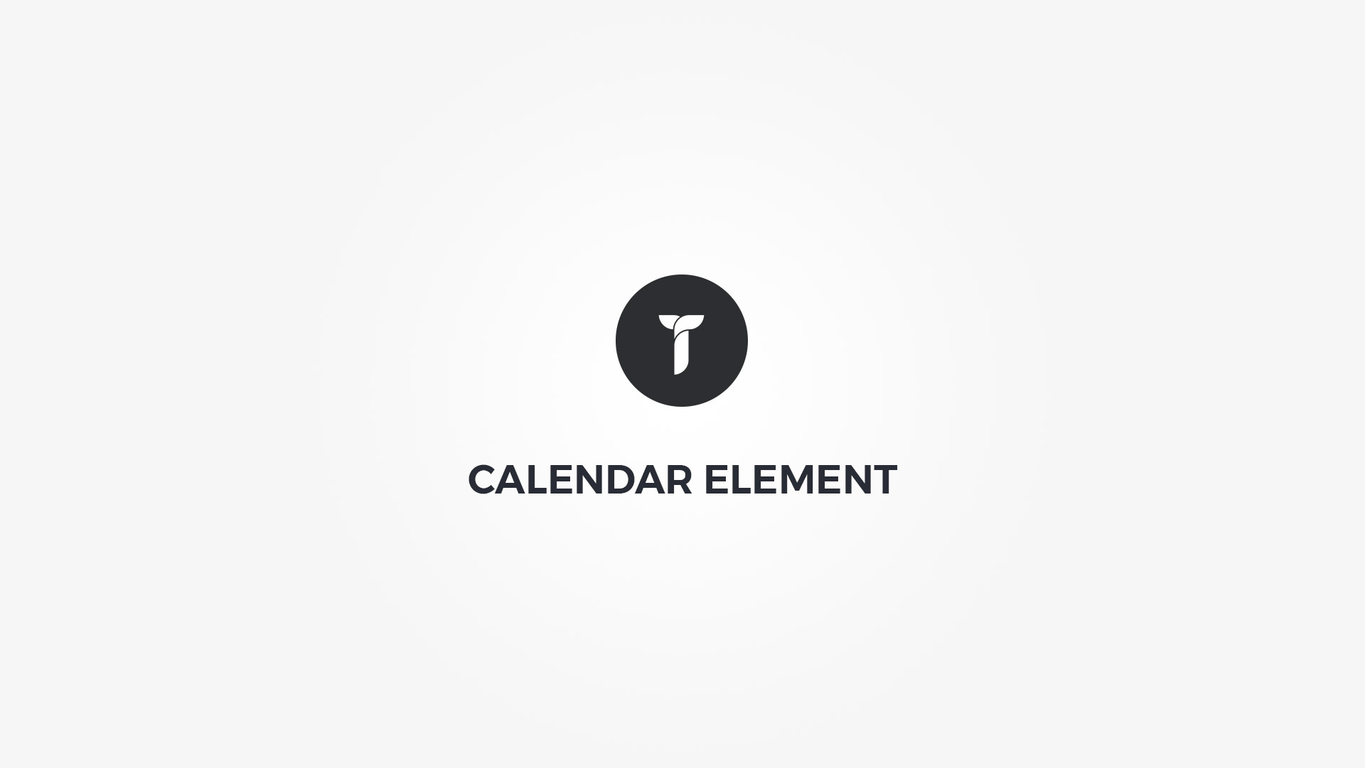 Creatus WordPress Theme Calendar Element
