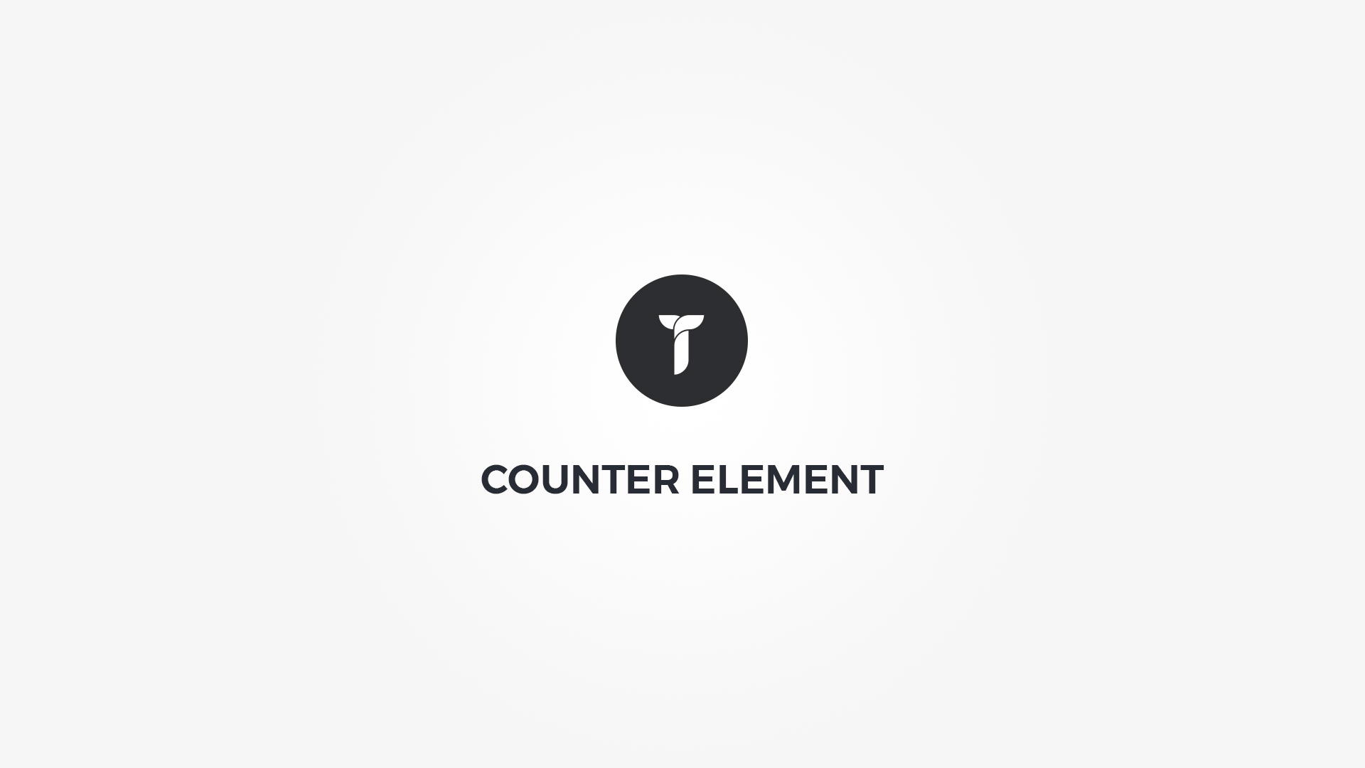Creatus WordPress Theme Counter Element