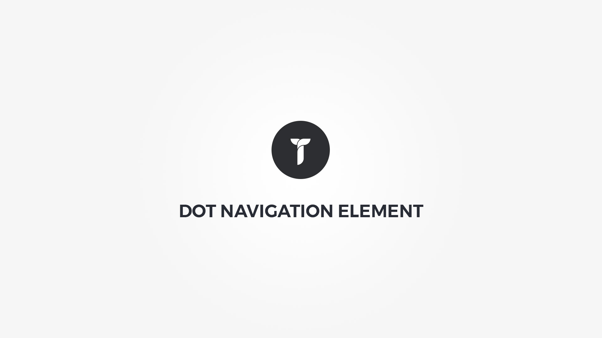 Creatus WordPress Theme Dot Navigation Element