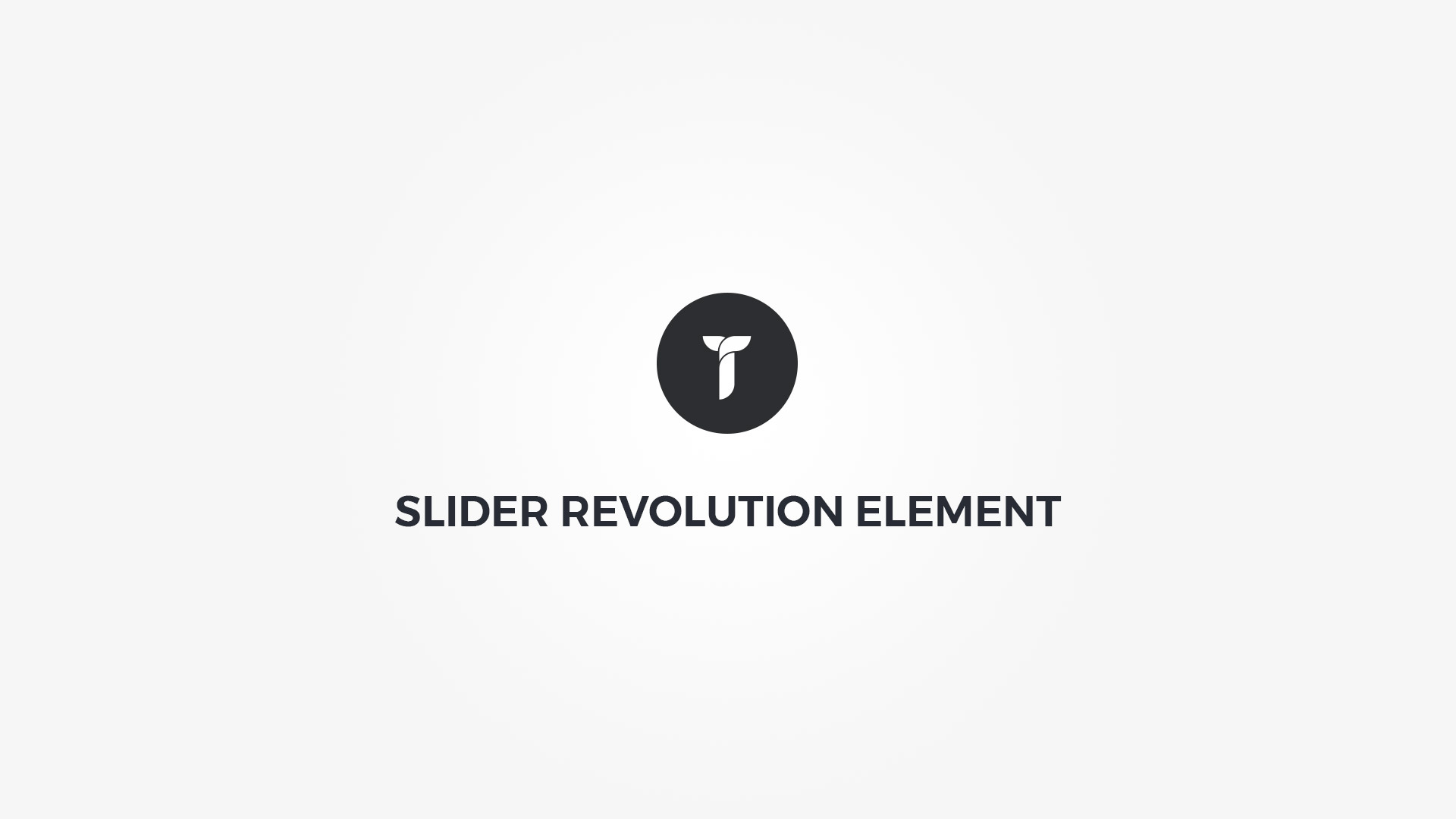 Creatus WordPress Theme Slider Revolution Element