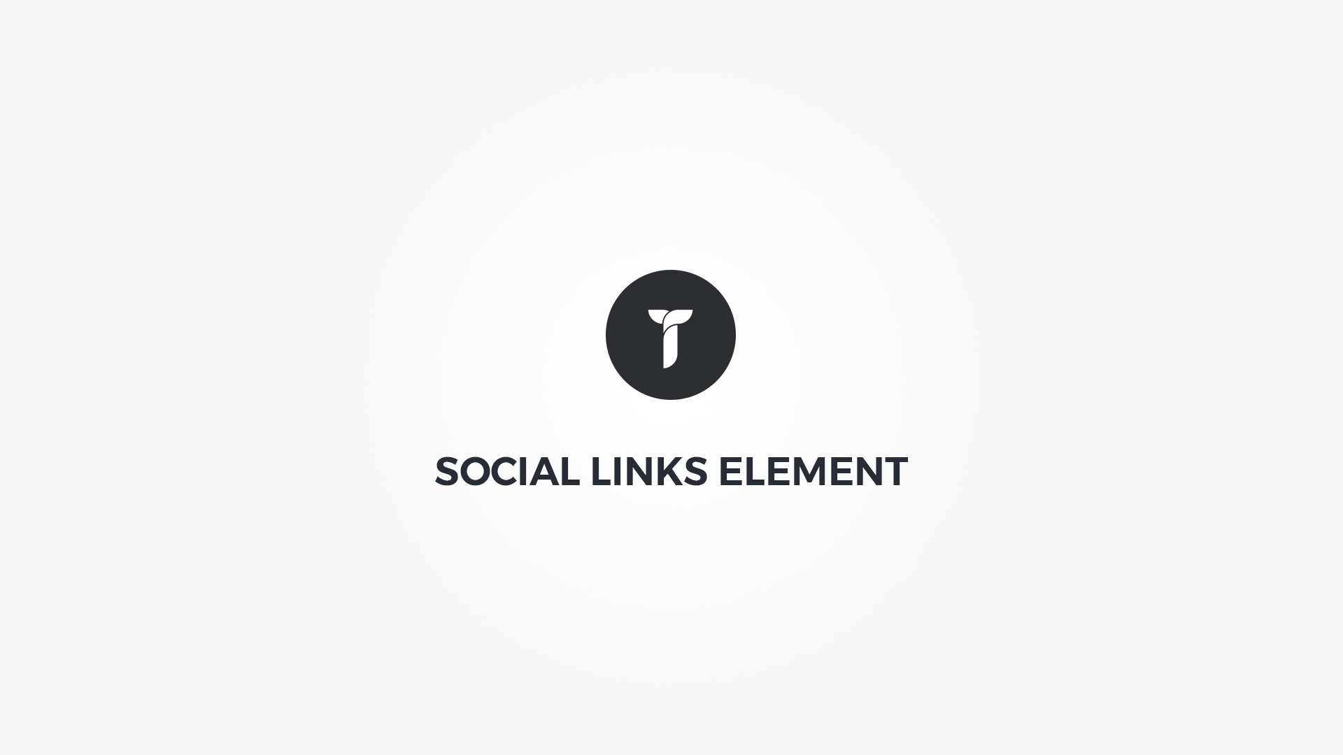 Creatus WordPress Theme Social Links Element