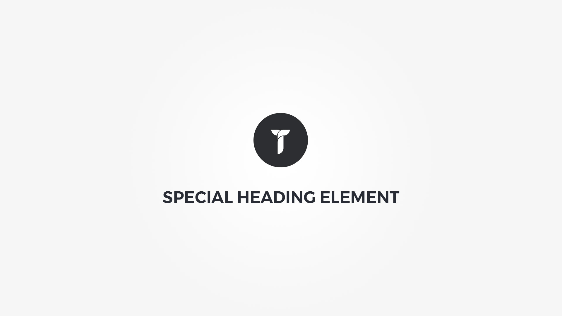Creatus WordPress Theme Special Heading Element