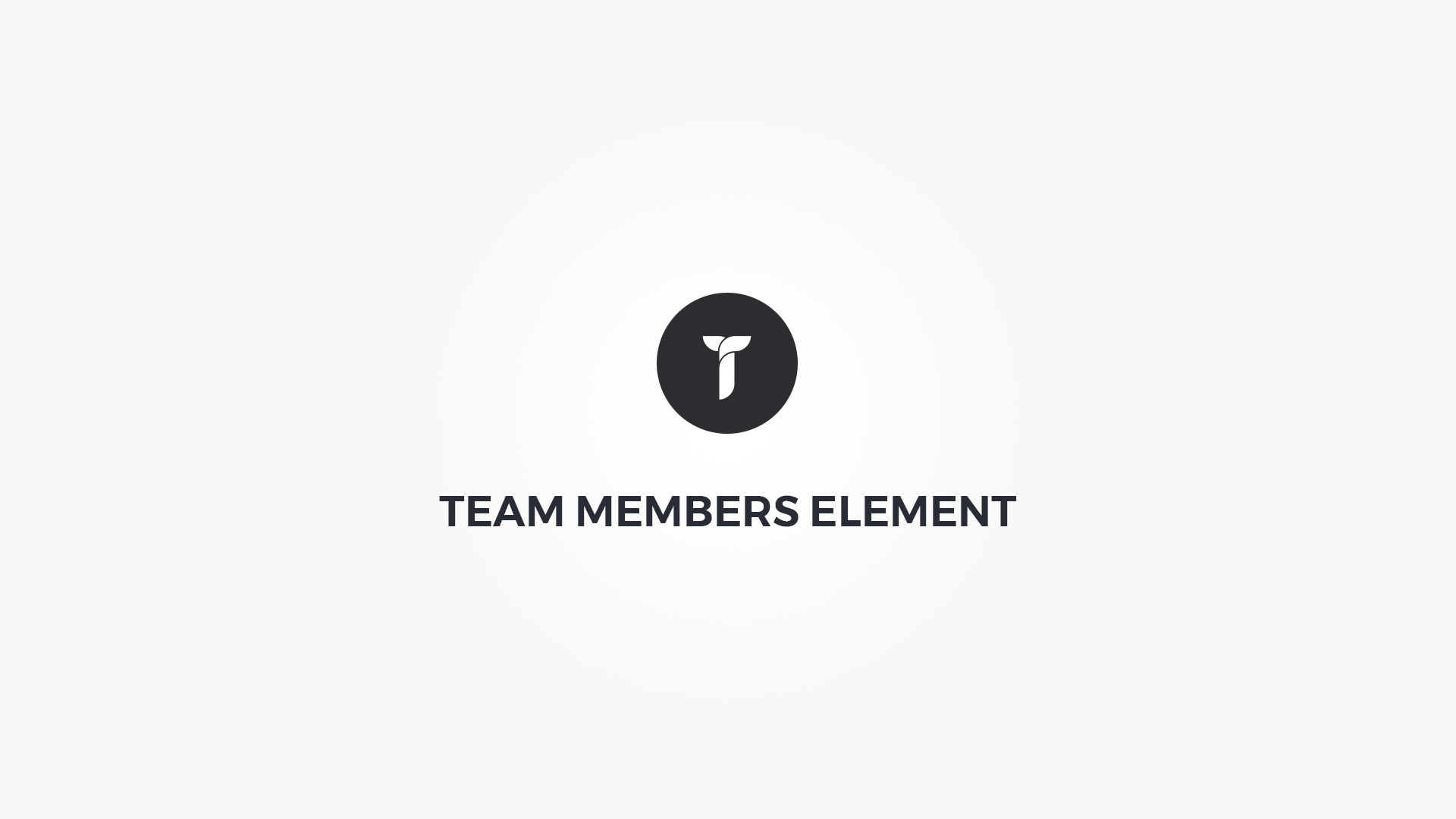 Creatus WordPress Theme Team Members Element