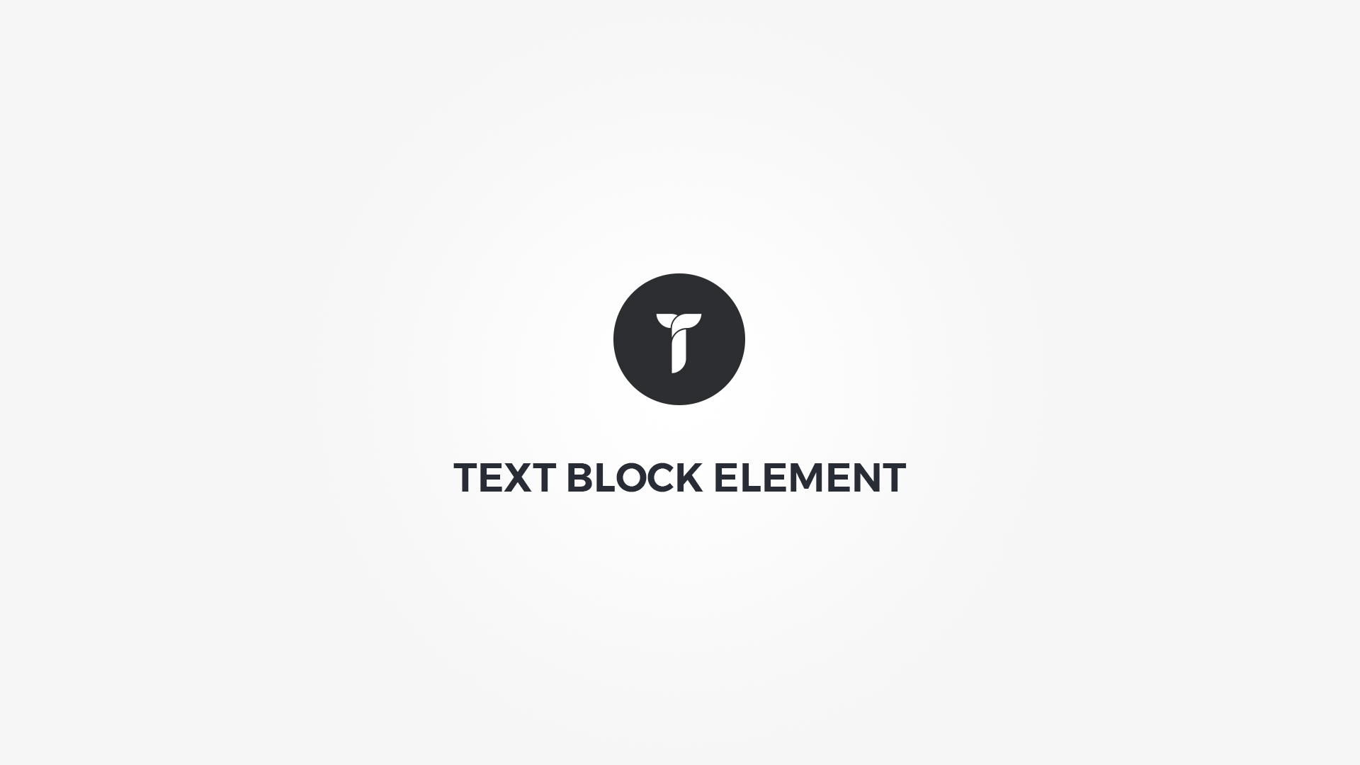 Creatus WordPress Theme Text Block Element