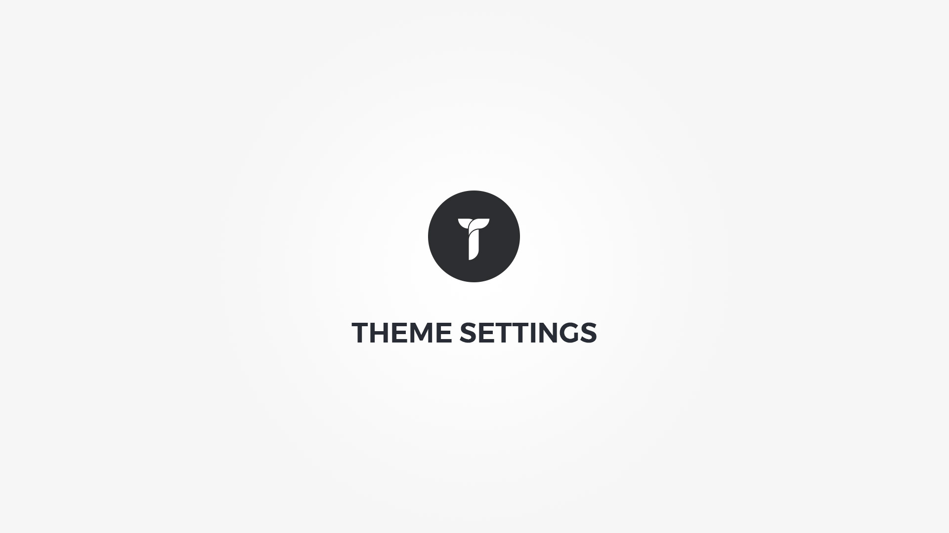 Creatus WordPress Theme Settings Overview