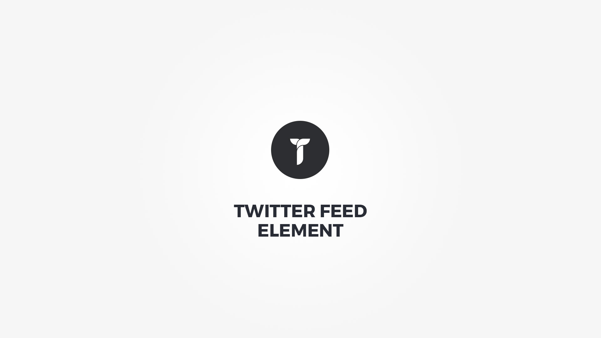 Creatus WordPress Theme Twitter Feed Element
