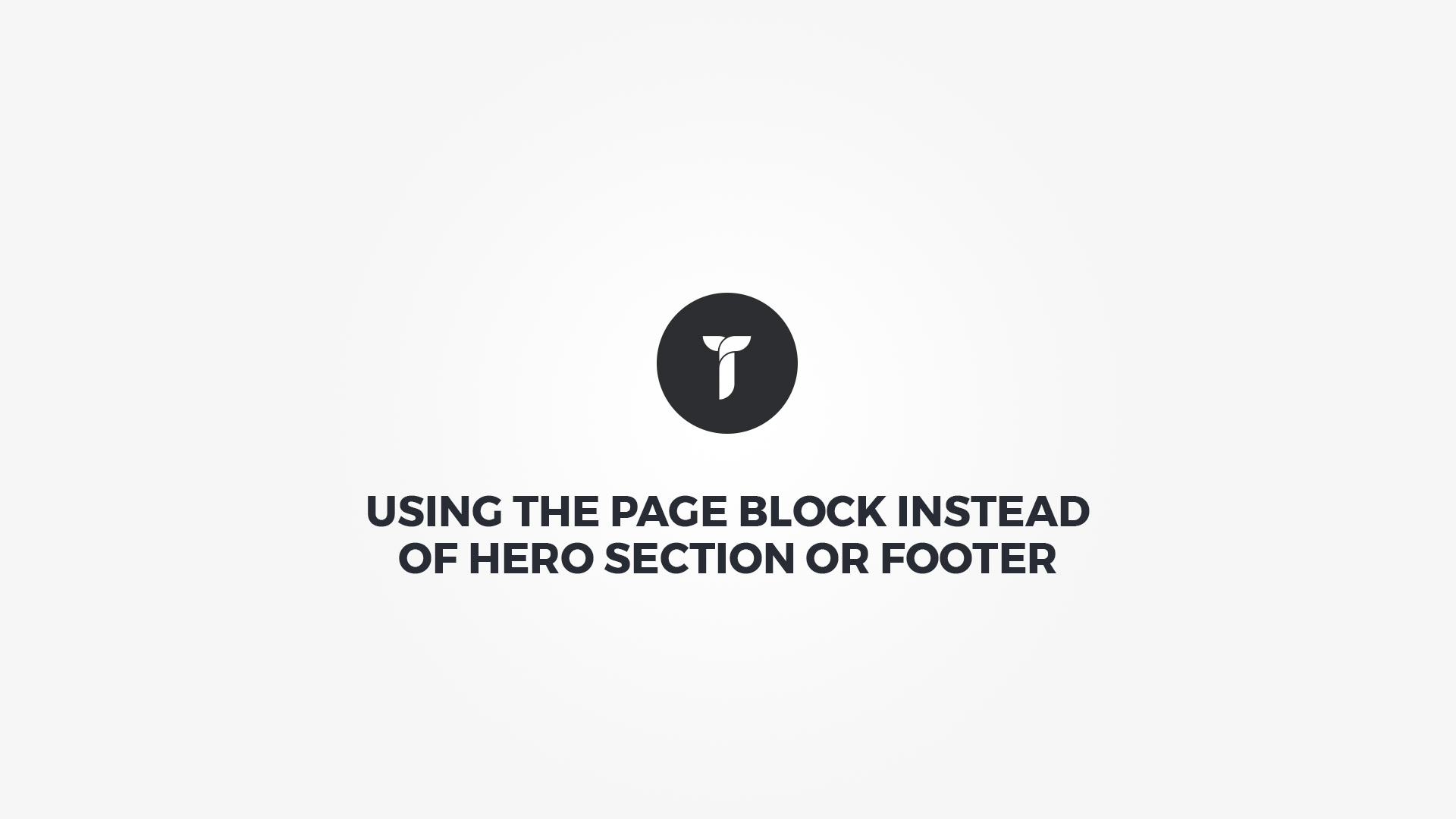 Creatus WordPress Theme Using Page Blocks Instead of Hero Section or Footer